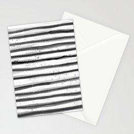 Zebra Swirl Stripe Stationery Cards