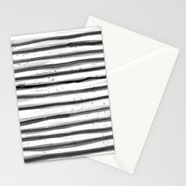 Zebra Swirl Stripe Stationery Cards