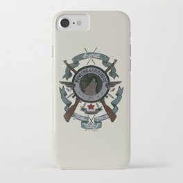 Sgt Bucky Barnes (blue) iPhone Case