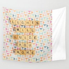 Lights Will Guide You Home Wall Tapestry