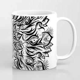 Fire-Black Coffee Mug