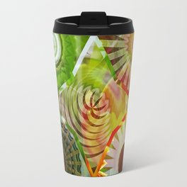 Sunny Basal Mandalas Travel Mug