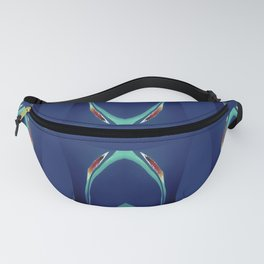 Arch Echoes on Blue Fanny Pack