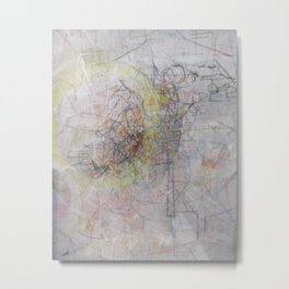 Composition #1 Metal Print