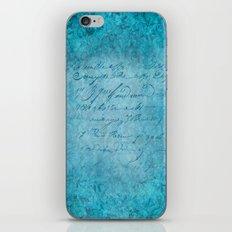 FLORAL DESIGN II iPhone & iPod Skin