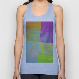 Di-simetrías Color Unisex Tank Top