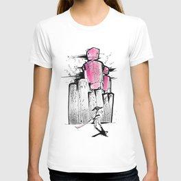 Pink Robots T-shirt