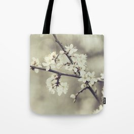 crossed blossoms Tote Bag