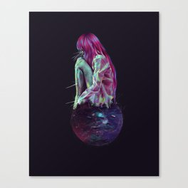 My Own World Canvas Print