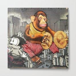 Monkey Biz Metal Print