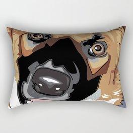 Trina Dog Rectangular Pillow
