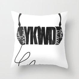 YKWD Podcast w/ Robert Kelly  Throw Pillow