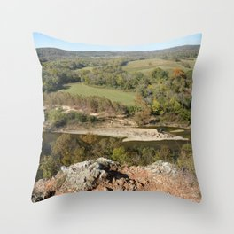 Sparrowhawk Mountain Series, No. 5 Throw Pillow