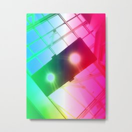New York Psychedelic Vision Metal Print