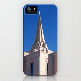 LDS Gilbert Temple iPhone Case