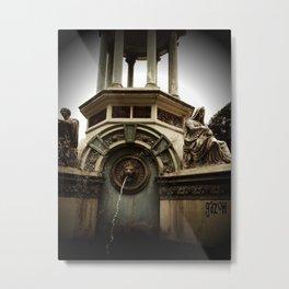 zoo fountain Metal Print