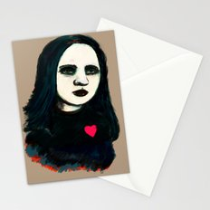 Death Rock Stationery Cards