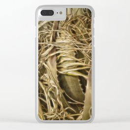 Wild Abandon Clear iPhone Case