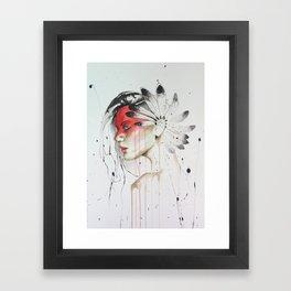 Jay Freestyle - Native American Framed Art Print