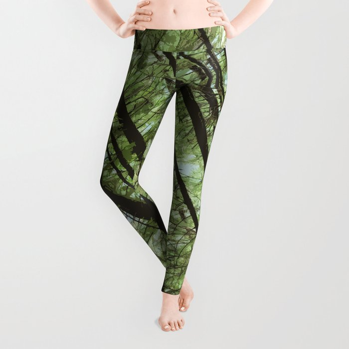 YOUNG FOREST Leggings