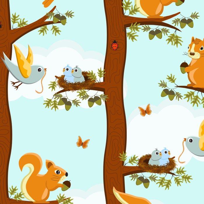 squirrel party Leggings