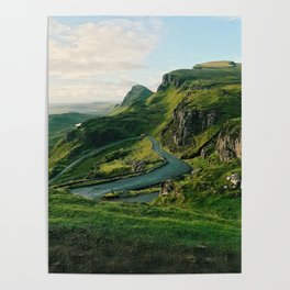 The Quiraing in Isle of Skye, Scotland Poster