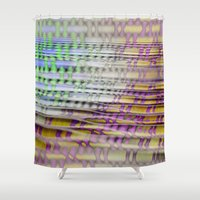 breathe Shower Curtains featuring Breathe by mimulux