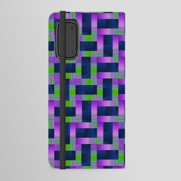 Purple stream Android Wallet Case