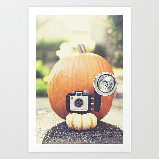 Big Pumpkin Art Print