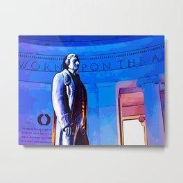 Jefferson Memorial III Metal Print