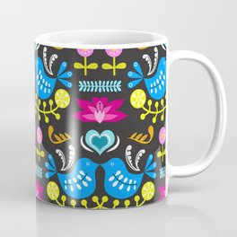 Folk Art Garden Coffee Mug