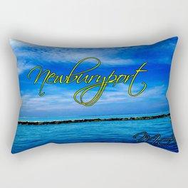 Water View at Newburyport, MA Rectangular Pillow