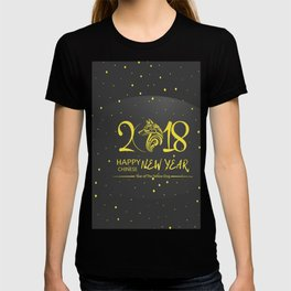 Chinese New Year poster for the year of the earth dog 2018 T-shirt