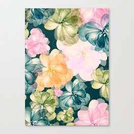 Flowers  -a021 Canvas Print