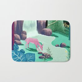 The Whispering Waters of Eventide Vale Bath Mat