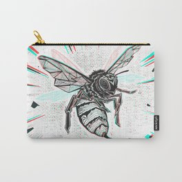 This wasp is pissed! Carry-All Pouch