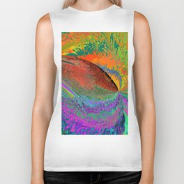 A Splash Of Color Biker Tank