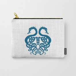 Merged Norse Dragons Carry-All Pouch