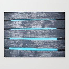 Plank Walking Canvas Print
