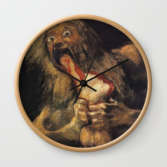 SATURN DEVOURING HIS SON - GOYA by iconicpaintings