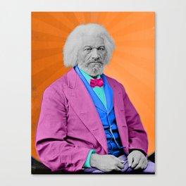 Frederick Douglass - Sunburst Canvas Print