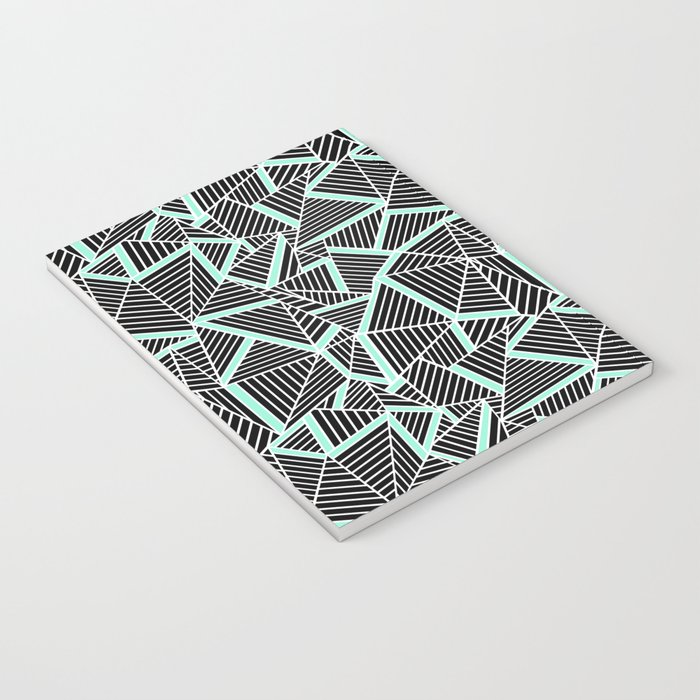 Ab 2 Repeat Mint Notebook