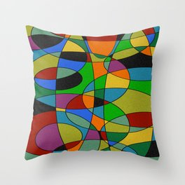 Abstract #94 Throw Pillow