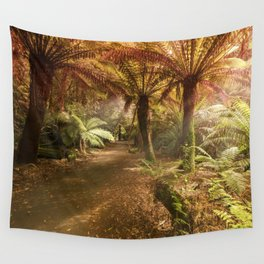 Golden Forest Wall Tapestry