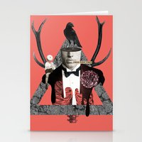death Stationery Cards featuring Death by Repulp