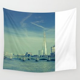 View to the Shard Wall Tapestry