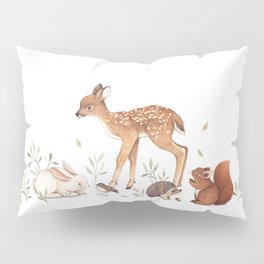 Woodland Friends Pillow Sham