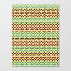 AZTEC Pattern 1-2 Canvas Print