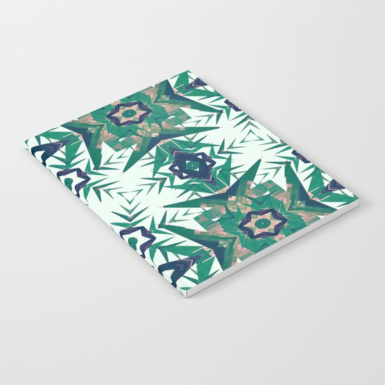 Tropical Snowflakes Notebook