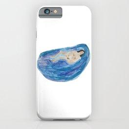 Depressed Bathing Woman iPhone Case